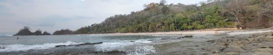 Hotel Punta Leona: Playa blanca donde se puede descansar