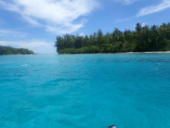 Coco beach: Motu Tiahura