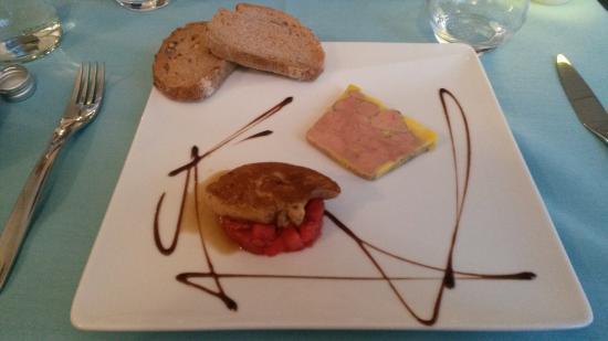 Bistro 2 Genies: duo de foie gras