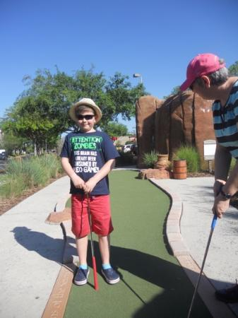 Mighty Jungle Golf, LLC: on the course
