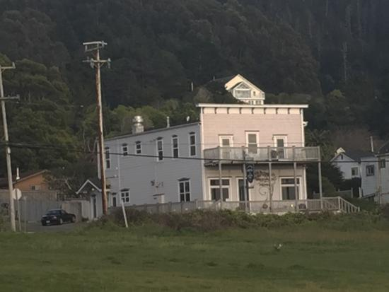 Westport Hotel From Ocean Historic Headlands Easter Eve 2015
