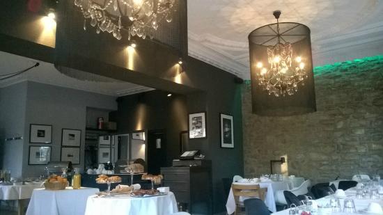 Hotel Le Chatelet: salle de petit dejeuner