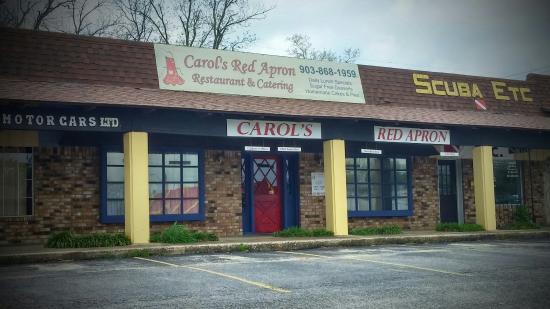 Carol's Red Apron