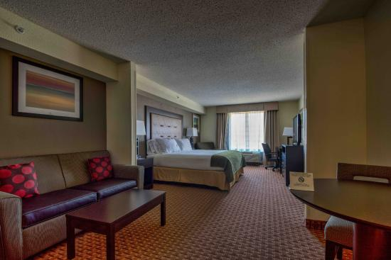 Holiday Inn Express Hotel & Suites North East: King room suite