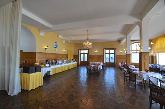 Le Grand Hôtel : cote petit déjeuner