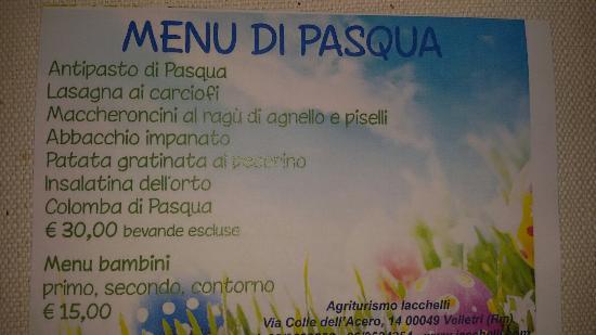 Velletri, Italia: Agriturismo Iacchelli