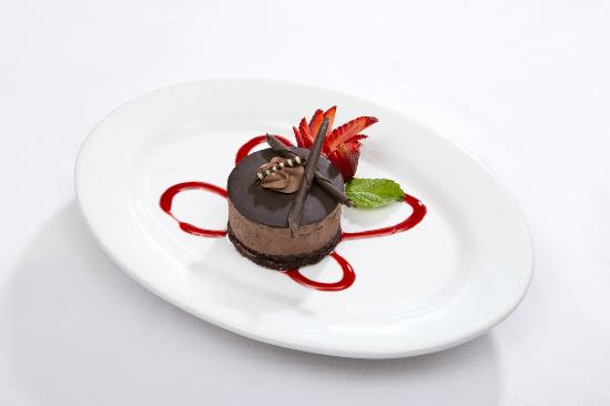 Le Chateau Garden Bistro : Chocolate Mouse at Le Chateau