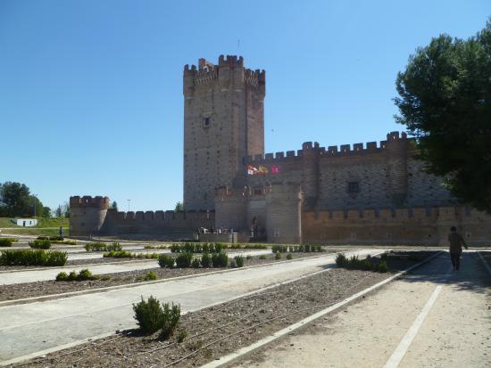 Castillo de la Mota: Vistas del castillo