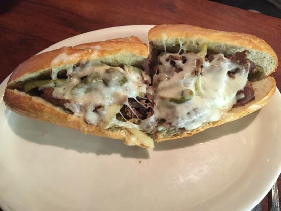 Brooklyn Boys: Philly Steak Sandwich