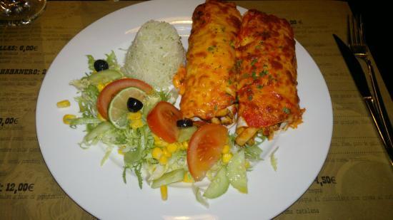 Колоннелла, Италия: Enchiladas Negra