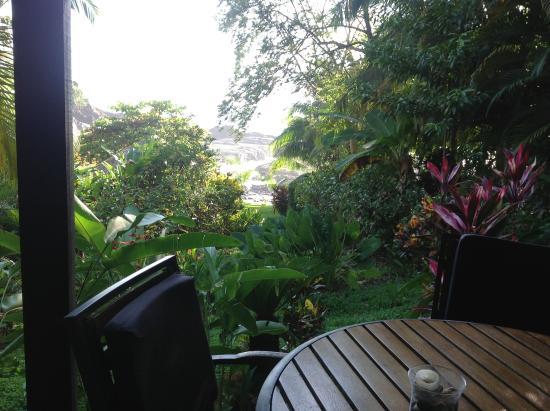 Costa Paraiso: Porch of Toucan Room