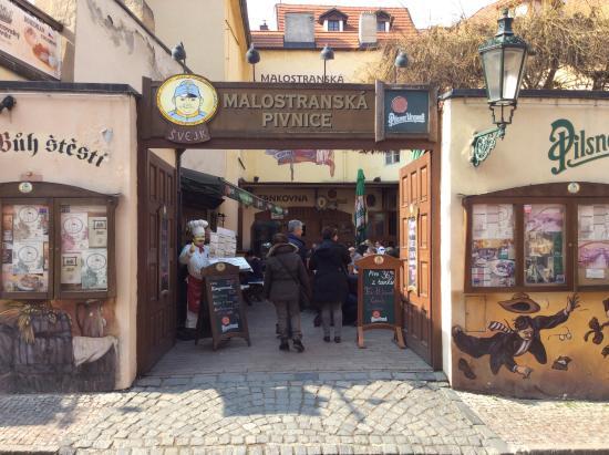 Svejk Restaurant : Ingresso