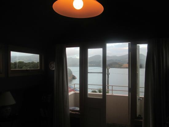 Captain Eady's Lookout: vue de la chambre