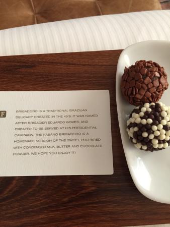 Hotel Fasano Sao Paulo: O mimo que recebemos
