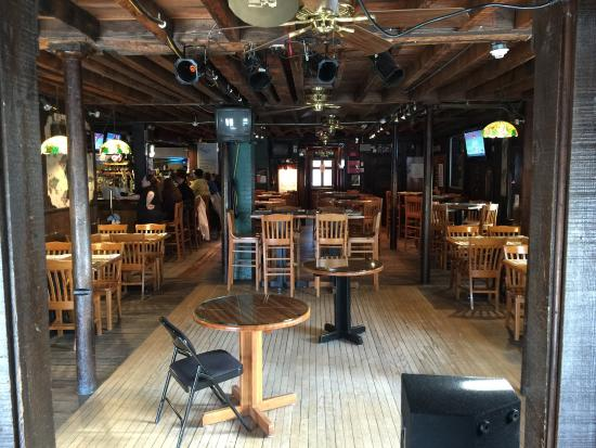Boucher's Wood River Inn : View from the stage... Live music every Friday, Saturday, Sunday!