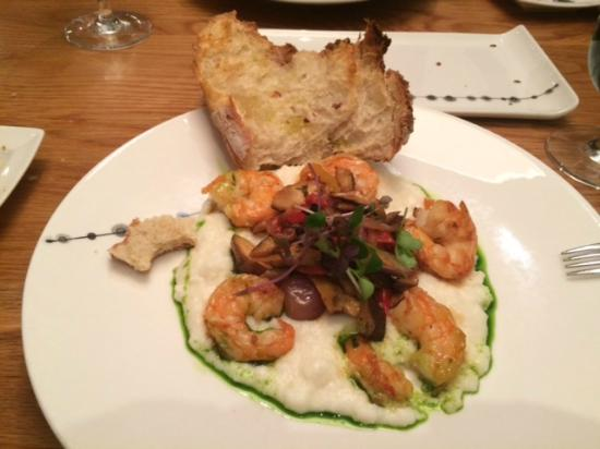 Wildwood Kitchen: Shrimp With Polenta And Crusty Bread