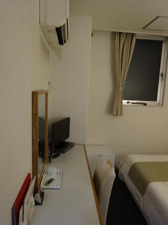 Hotel Area One Fukuyama: 客室です