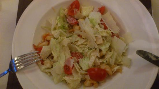 Pegas Restaurant & Terrace: Cesar salad with shrimps