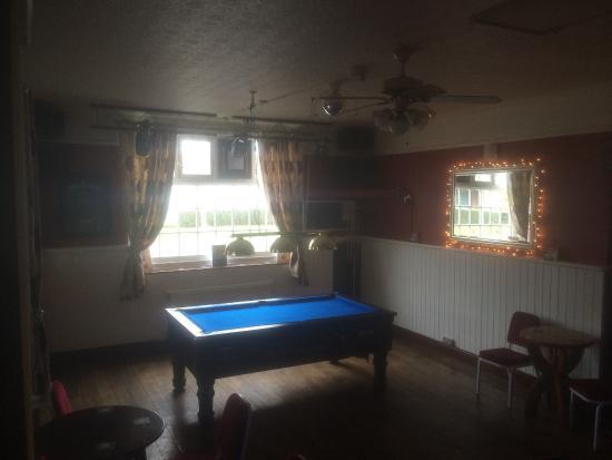 The jubilee sunbury: Pool table public bar