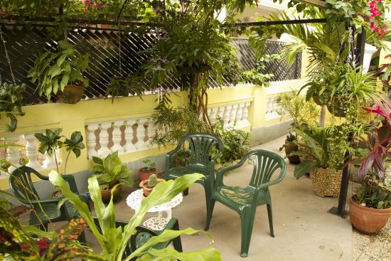 Casa Onelia: Garden/Entrance