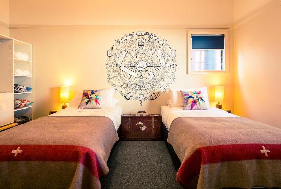 Alabama Hotel Hobart : Twin room