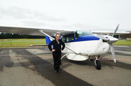 Air Fiordland: Katie Edward, Pilot