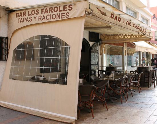 Bar Los Faroles: Terraza