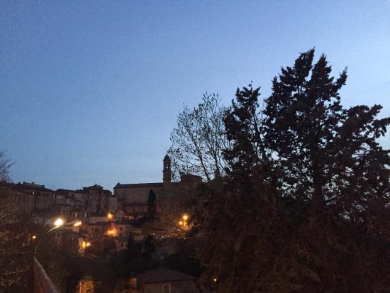 Terme di Montepulciano: Punto di vista panoramico