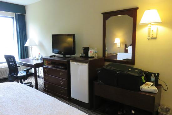 Hampton Inn St. Petersburg: Tasteful Furniture