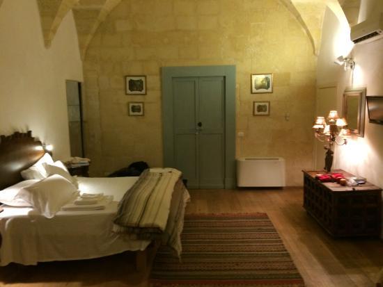 B&B Palazzo Gorgoni: Palazzo Gorgoni Lecce, Puglia our room