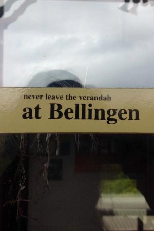 Bellingen YHA - Belfry Guesthouse : It's true