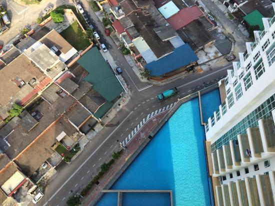 Nice Swimming Pool From My Room View Picture Of Ksl Hotel Resort Johor Bahru Tripadvisor