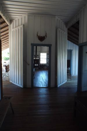 Manatee Village Historical Park: Inside The Cracker Gothic Style House     Very Open