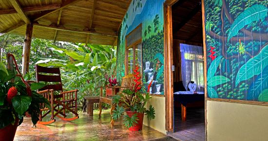 Casitas Tenorio B&B: The patio of #Casita 2