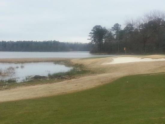 Grand National Golf Course: Lakes Winter Conditions