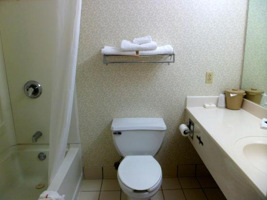 Red Roof Inn & Suites Knoxville East : bathroom has an exhaust.