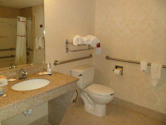 Hawthorn Suites by Wyndham Charleston: Large, spacious bathroom.
