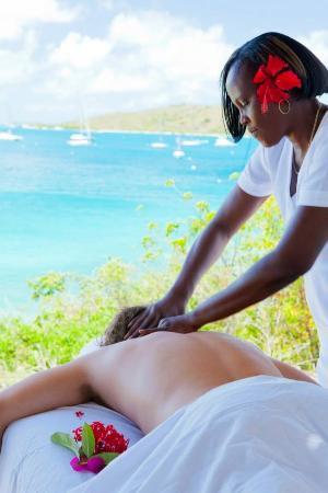 The Spa at Leverick Bay: Massage in British Virgin Island