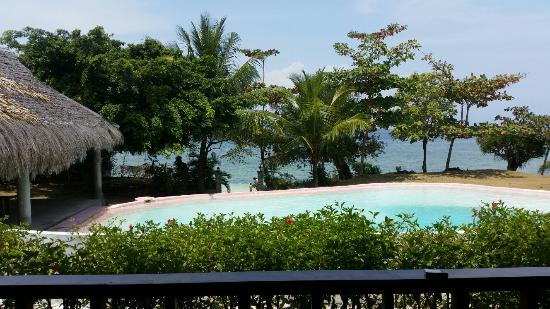 DACOZY Beach Resort: View from the veranda.