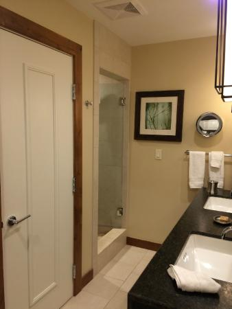 The Osprey at Beaver Creek, A RockResort: Bathroom with no door (can be quite cold)