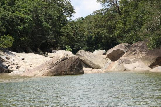 Gal Oya National Park - The Crossing: Makare- where water comes to the tank