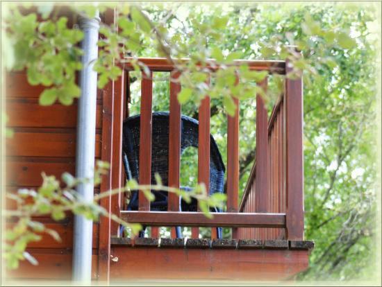 Residence Souillac Golf & Country Club: Balcon d'un des chalets