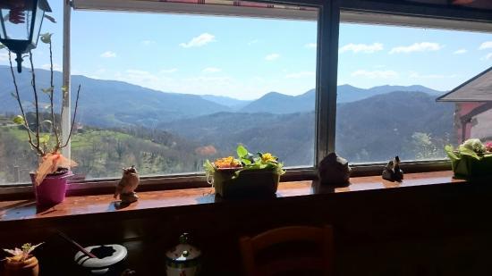 Sirio B&B & Arcobaleno Casa Vacanze: Vista dalla veranda! ��