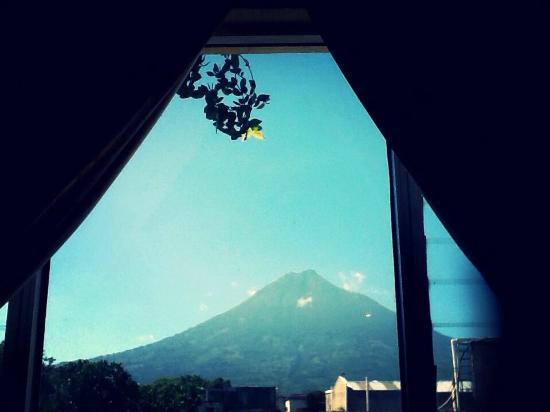Hotel Los Nazarenos: Desde mi cama