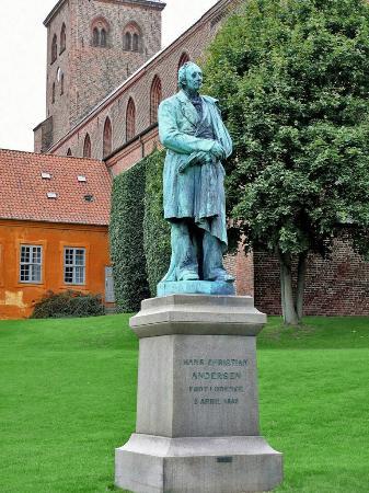 Odense, Denmark: Hans Christian Andersen Statue