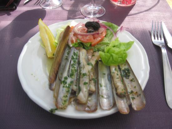 La Boitabebert : assiette de couteaux