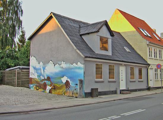 Odense, Dinamarca: прогулки по Оденсе