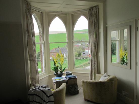 Bindon Bottom B&B: View from the room