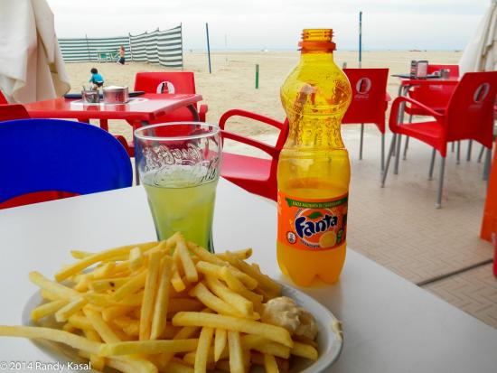Beach Egisto 38 : Food available to purchase