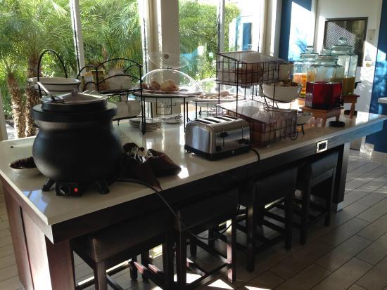 Breakfast Picture Of Hilton Garden Inn Anaheim Garden Grove Garden Grove